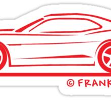 2010 Camaro Sticker