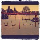 Swings in snow by johnbanchory