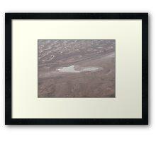 Look at Lake Eyre South Framed Print