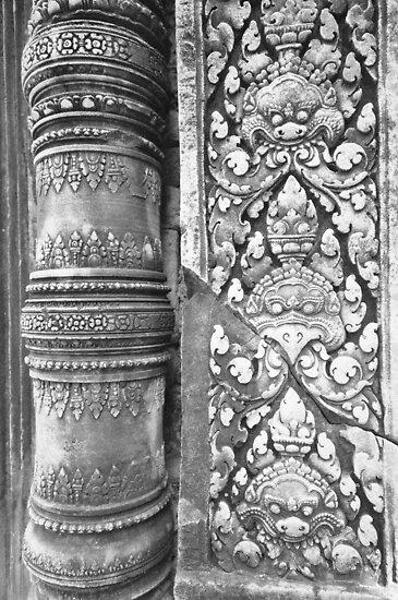 Ta Prohm, Angkor, Cambodia by Dean Bailey