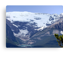 Lake Louise From Afar Canvas Print