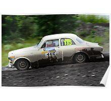 Volvo Amazon rally car Poster