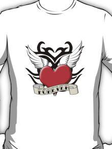 Tribal Heart Tattoo T-Shirt