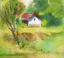 House in the woods 2 by MilindMulick