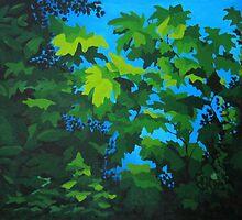 Leaves by Karen Ilari