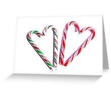 2 Hearts Greeting Card