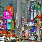 Times Square Two by Alberta Brown Buller