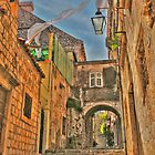 Alley in Croatia  by Alberta Brown Buller