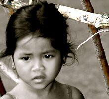 CAMBODIAN GIRL by alegon53