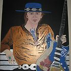 Blues in the park with SRV by idaman1950