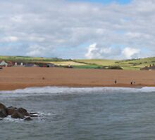 West Bay Panorama  by Tony Reed