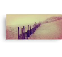 Stepping in a Clouded Dream Canvas Print