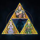 The Triforce... and a bit of darkness by pertheseus