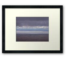 Edge of Eyre Framed Print