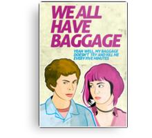Baggage | Scott Pilgrim Metal Print