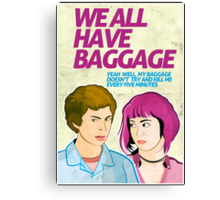 Baggage | Scott Pilgrim Canvas Print