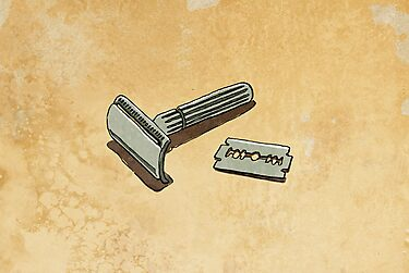 safety razor by Richard Morden
