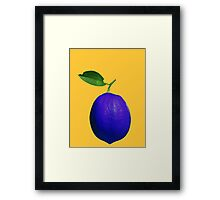 This is not a lemon Framed Print