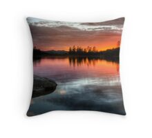 Burning Calm Throw Pillow