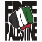 "Free Palestine ""Flag Fist""  by avdesigns"