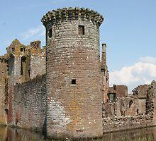 Caerlaverock Castle,Scotland,UK by Dawn B Davies-McIninch