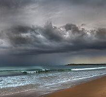 Breamlea Beach by Heather Prince