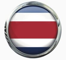 Costa Rica Flag by 3Dflags