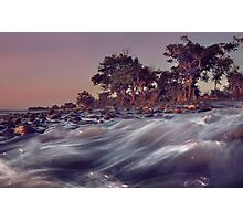 Flow Of Water, Rocks And Trees Photographic Print