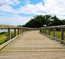 Boardwalk to Heaven  by Photography By Corinne