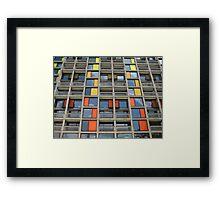 Park Hill - Urban Splashed Framed Print