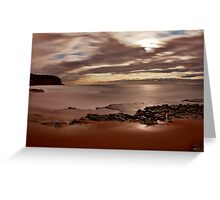 Through the darkness there's light Greeting Card