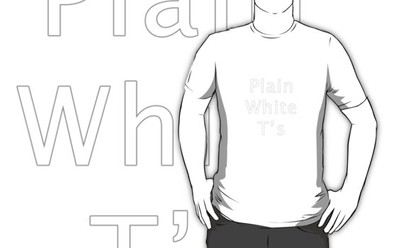 Plain White T's by CornrowJezus