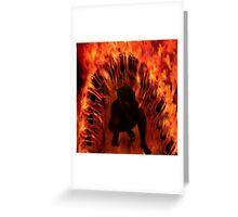 Rebirth - Waking the Demon  Greeting Card