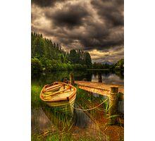 Loch Ard Jetty Photographic Print