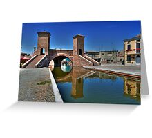 Trepponti - Three Bridges Greeting Card