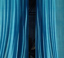 Blue curtain by Bluesrose