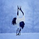 Red Crowned Crane by Jerry L. Barrett