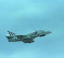 RAN Skyhawk @ Navy Day Air Show 1980 by muz2142