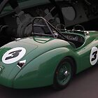 52 Jag Historic Racer by Bill Dutting