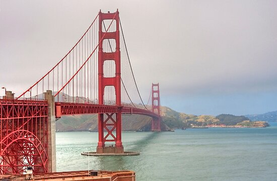 Golden Gate Bridge by Martin Smart
