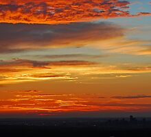 Denver in the clouds by Bree Waltman