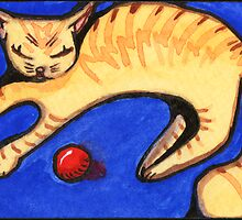 Sleepy Orange by Amy-Elyse Neer