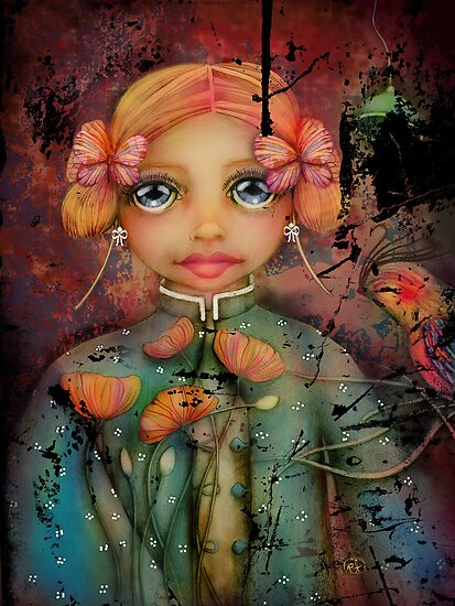 the poppy princess by © Karin  Taylor