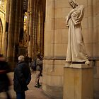 Statue of Christ in St Vitus Cathedral by SerenaB
