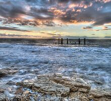Port Willunga by Richard  Cubitt