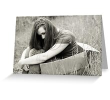 So I guess that I'll curl up and die too. Greeting Card
