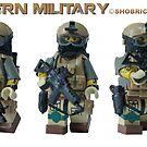 Modern Military Minifig  by Shobrick