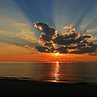 Indiana Dunes Sunset by rtishner1