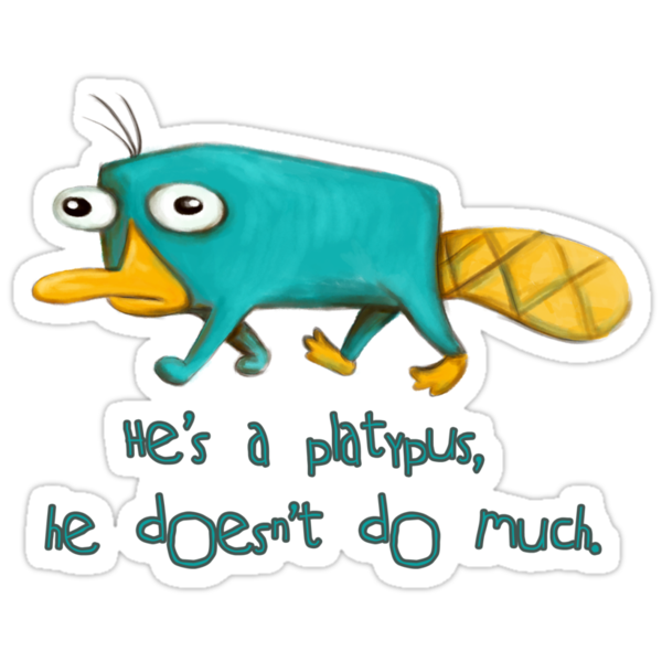 Perry the Platypus v2.0 by LauraMSS