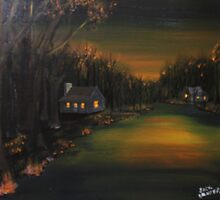 Golden Dusk by Jack G Brauer